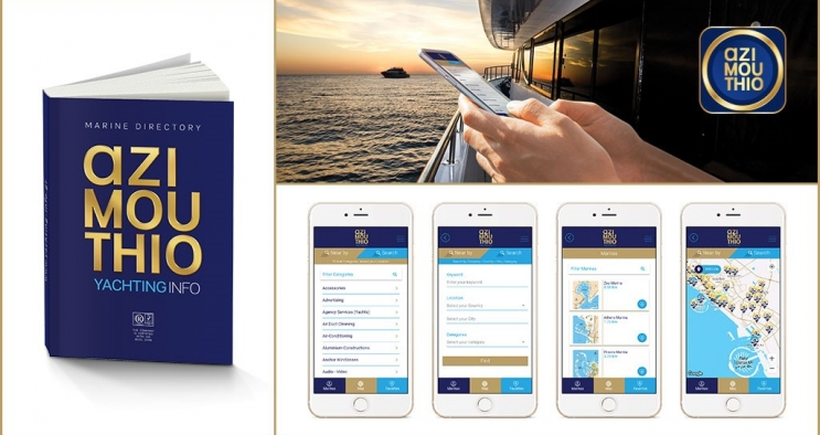 Azimouthio Yachting info  Application