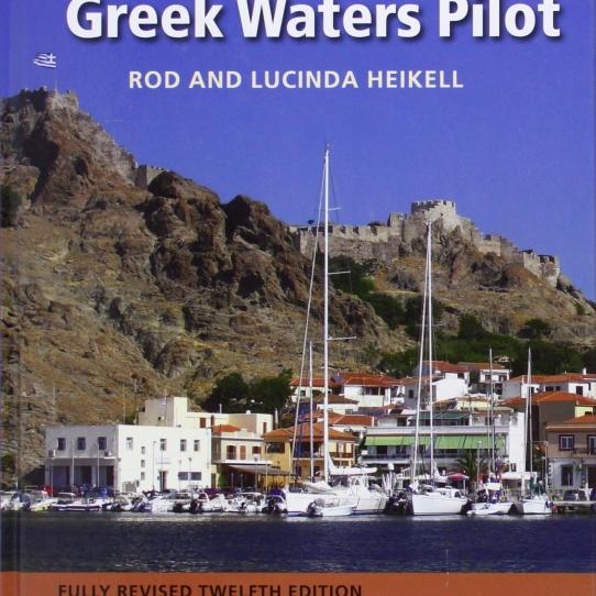 Greek waters pilot book
